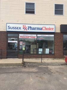 Sussex Pharma Choice, Front View
