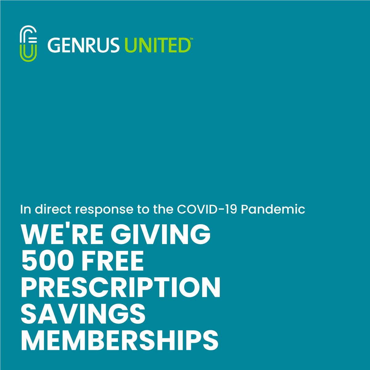 Genrus United 500 Free Membership posters
