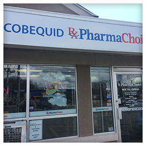 Cobequid PharmaChoice in Lower Sackville, Nova Scotia, Front View