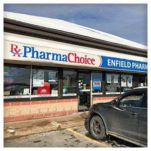 Enfield Pharmachoice in Enfield Nova Scotia, Front View,
