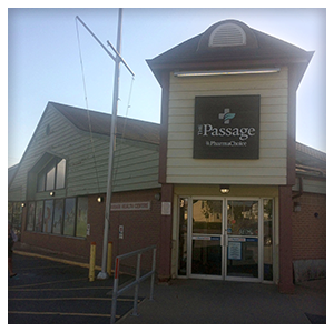 The passage pharma choice in Eastern Passage, Front View