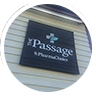 A sign of The Passage pharmachoice in Eastern Passage, Nova Scotia