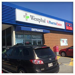 Westphal PharmaChoice in Dartmouth, Nova Scotia, Front View