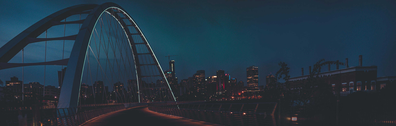 Edmonton skyline for Genrus United