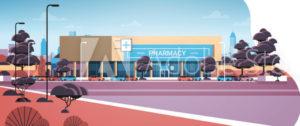 Pharmacy Illustration for Survey