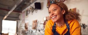 headshot of a women smiling